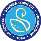 Staines Town Football Club logo