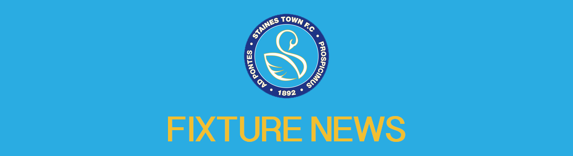 Hartley Wintney Home Fixture Rescheduled